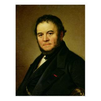Portrait de Marie Henri Beyle, connu sous le nom Carte Postale