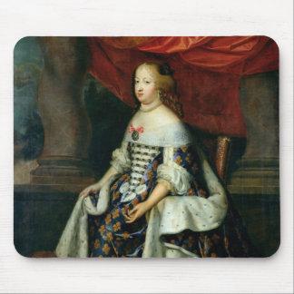 Portrait de Marie-Therese de l'Autriche Tapis De Souris