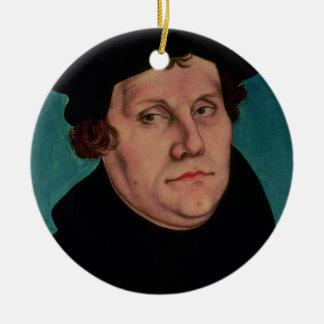 Portrait de Martin Luther, 1529 Ornement Rond En Céramique