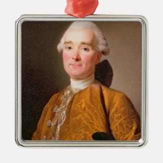 Portrait de Martin-Pierre Foache (huile sur la Ornement Carré Argenté