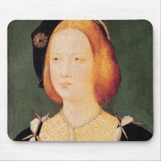 Portrait de Mary de l'Angleterre Tapis De Souris
