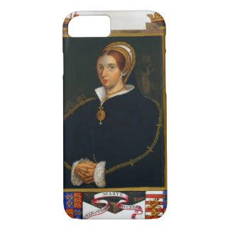 Portrait de Mary Tudor, des 'mémoires de la cour Coque iPhone 8/7