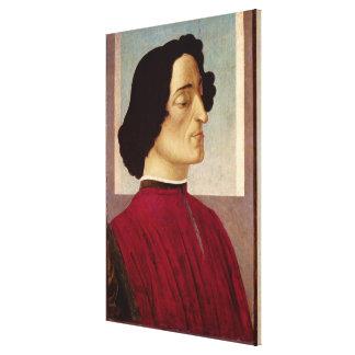 Portrait de Medici c.1480 de Giuliano Toiles