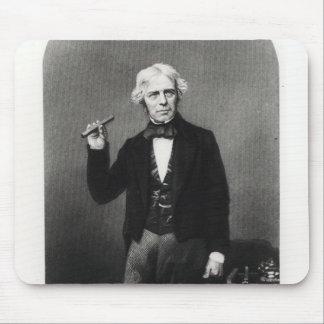 Portrait de Michael Faraday Tapis De Souris
