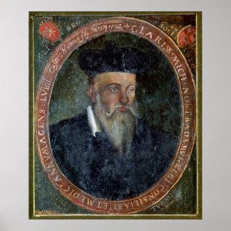 Portrait de Michel de Nostradame Posters
