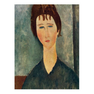 Portrait de Modigliani Amedeo Cartes Postales