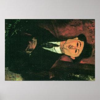 Portrait de Modigliani Amedeo Posters