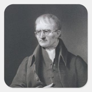 Portrait de monsieur Joseph Thomson Sticker Carré