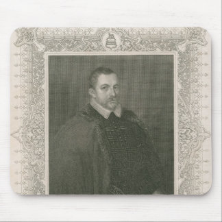 Portrait de monsieur Thomas Bodley Tapis De Souris