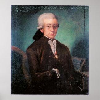 Portrait de Mozart Poster