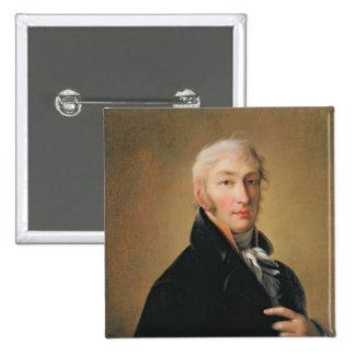 Portrait de Nikolay Mikhaylovich Karamzin, 1805 Badge