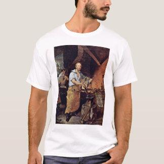 Portrait de Pat Lyon à la forge par Neagle John T-shirt