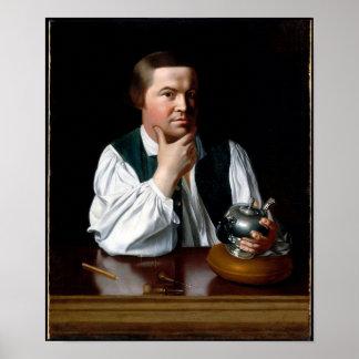 Portrait de Paul Revere Poster
