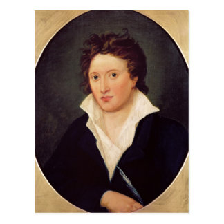 Portrait de Percy Bysshe Shelley, 1819 Carte Postale