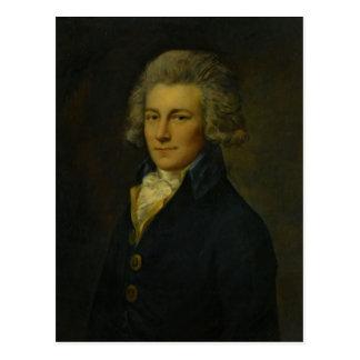 Portrait de Peter Godfrey par Thomas Gainsborough Cartes Postales