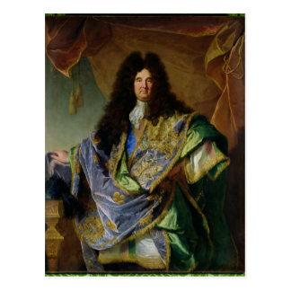Portrait de Philippe de Courcillon Marquis Carte Postale