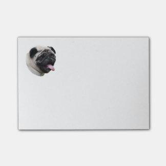 Portrait de photo d'animal familier de chien de post-it®