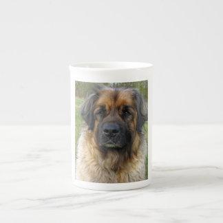 Portrait de photo de chien de Leonberger beau, cad Mug