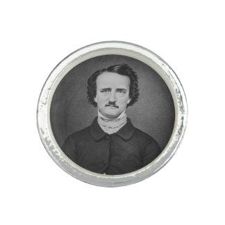 Portrait de photo d'Edgar Allan Poe - de Brady Bagues