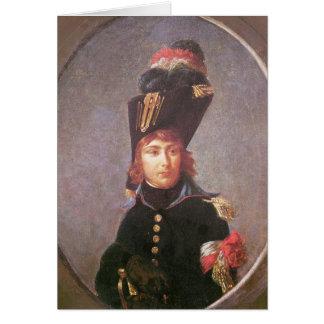 Portrait de prince Eugene de Beauharnais Carte De Vœux