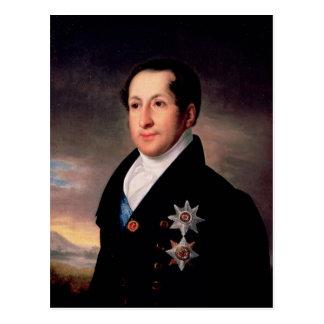 Portrait de prince Sergej Golitsyn, après 1828 Carte Postale