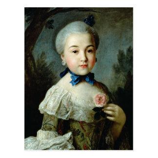 Portrait de princesse Charlotte Sophia Carte Postale