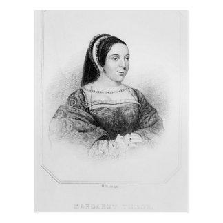 Portrait de reine de Margaret Tudor de l'Ecosse Carte Postale