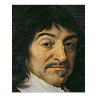 Portrait de Rene Descartes c.1649 Poster