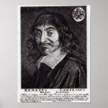 Portrait de Rene Descartes Posters