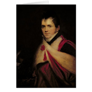Portrait de Rev. Edouard Daniel Clarke c.1822 Carte De Vœux
