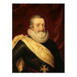 Portrait de roi de Henri IV de la France Carte Postale