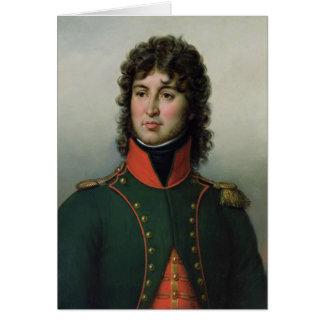 Portrait de roi de Joachim Murat de Naples Carte De Vœux