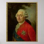 Portrait de roi de Louis XVI de la France Posters