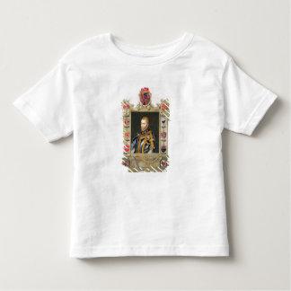 Portrait de roi de Philip II de l'Espagne T-shirt Pour Les Tous Petits
