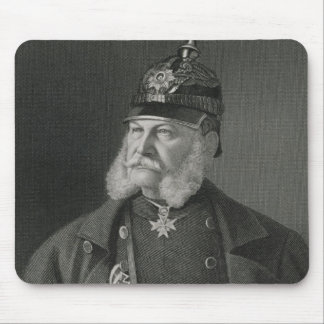 Portrait de roi de William I de la Prusse Tapis De Souris