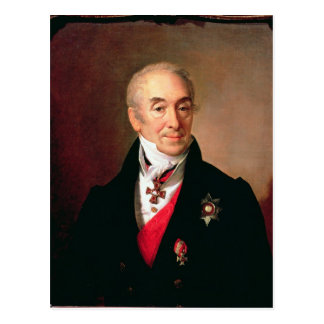 Portrait de S. Kushnikov, 1828 Carte Postale