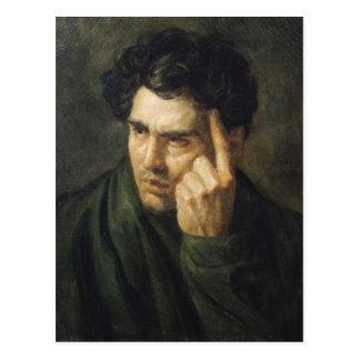 Portrait de seigneur Byron Carte Postale