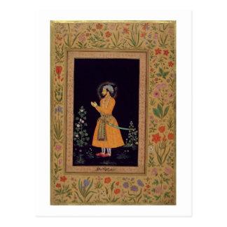 Portrait de Shah Jahan (1592-1666) Mughal, c.1632 Carte Postale