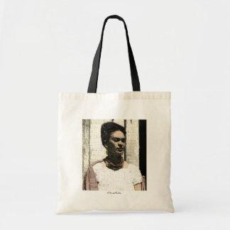 Portrait de textile de Frida Kahlo Sacs