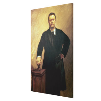 Portrait de Theodore Roosevelt Toiles Tendues