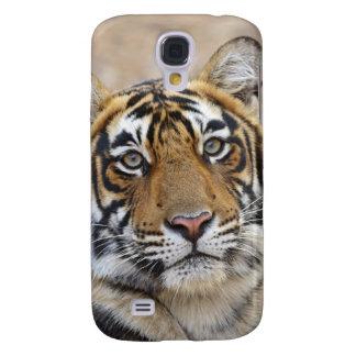 Portrait de tigre de Bengale royal, Ranthambhor Coque Galaxy S4