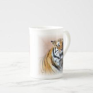 Portrait de tigre mug en porcelaine