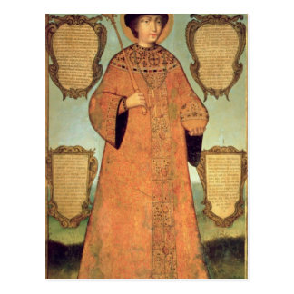 Portrait de tsar Fyodor Alexeevich Carte Postale