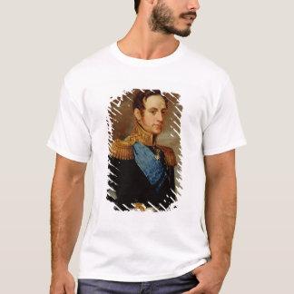 Portrait de tsar Nicholas I 1826 T-shirt