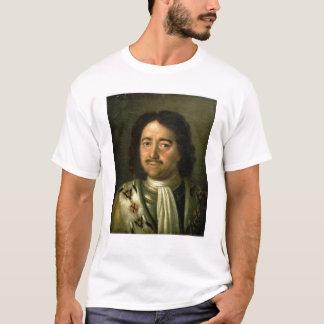 Portrait de tsar Peter I le grand 1772 T-shirt
