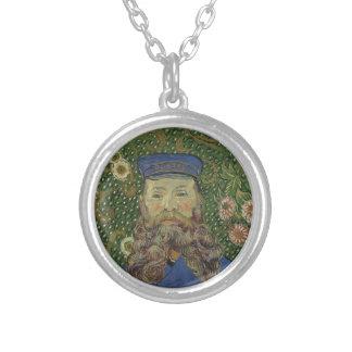 Portrait de Van Gogh   de facteur Joseph Roulin II Collier