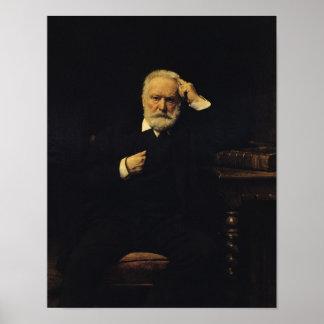 Portrait de Victor Hugo 1879 Posters