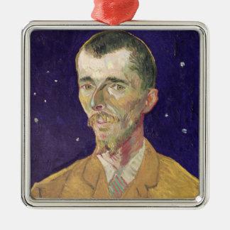 Portrait de Vincent van Gogh   d'Eugene Boch 1888 Ornement Carré Argenté