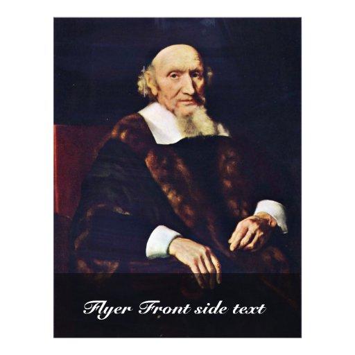 Portrait de voyage de Jacob par Maes Nicolaes Tract