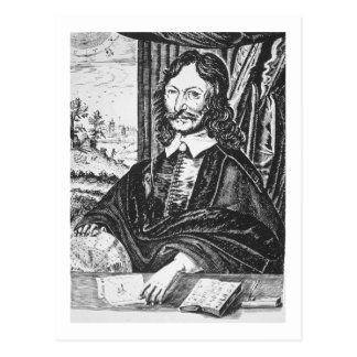 Portrait de William Lilly (1602-81), de son 'Chr Carte Postale
